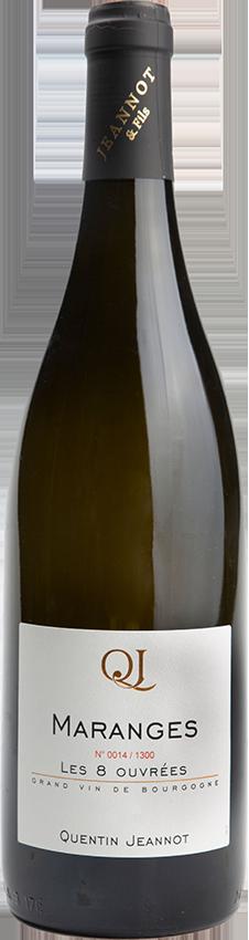 maranges les 8 ouvrees - Grand vin d'exception Domaine Jeannot