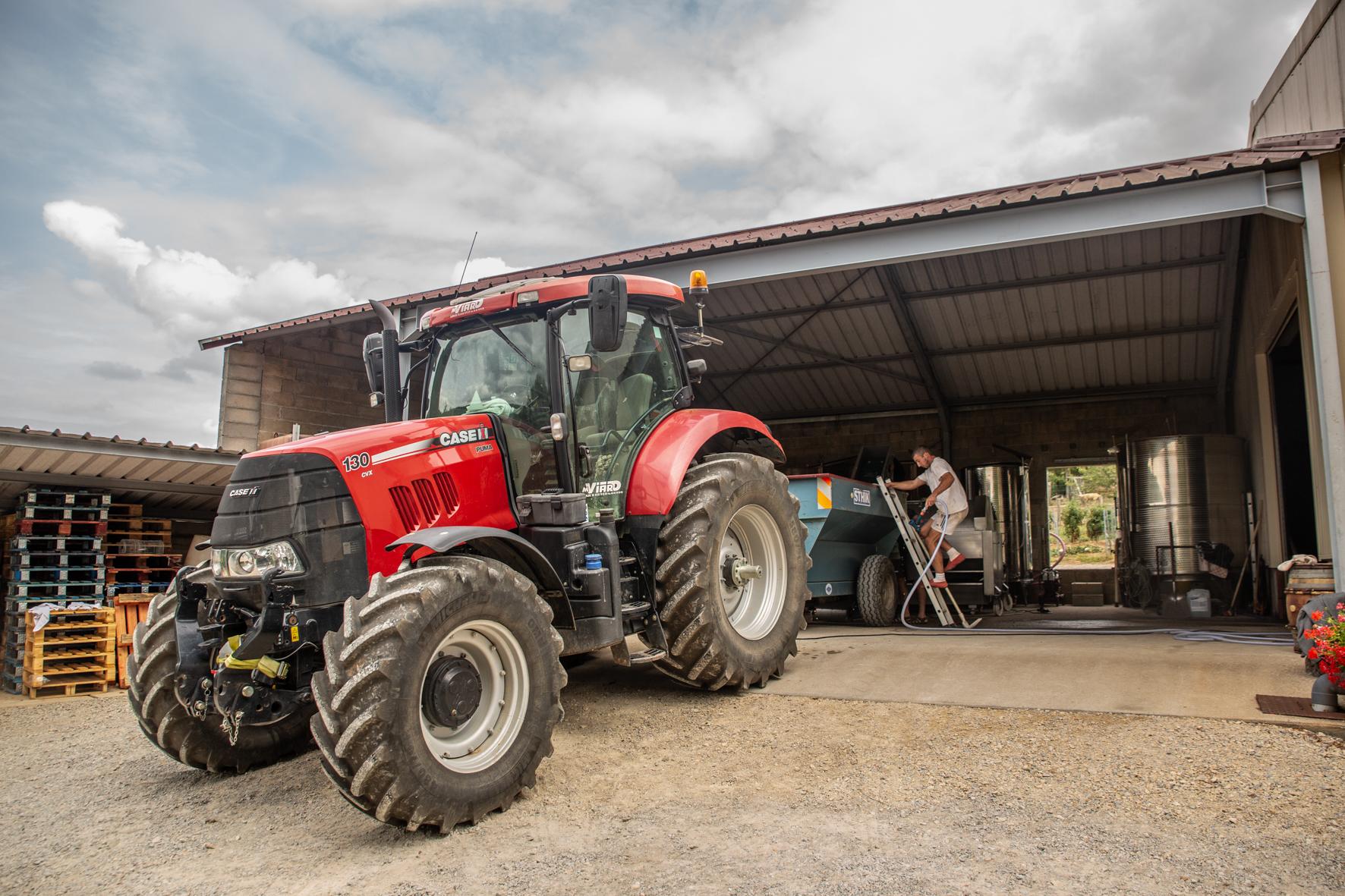 Tracteur viticole - Domaine Jeannot