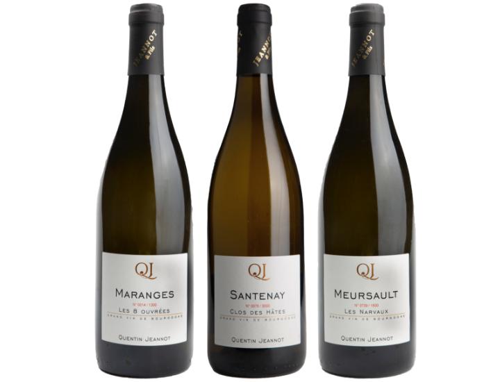 vins blancs - Grand vin d'exception Domaine Jeannot